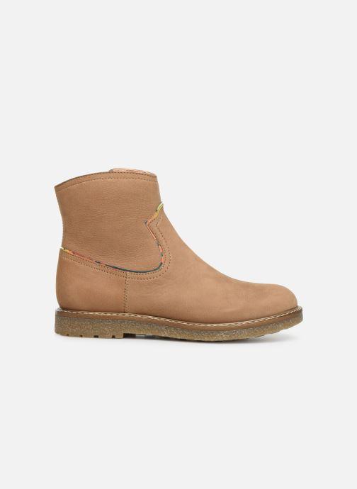 Bottines et boots Unisa Nolan Marron vue derrière
