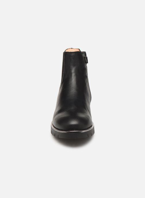 Bottines et boots Unisa Lazar Noir vue portées chaussures