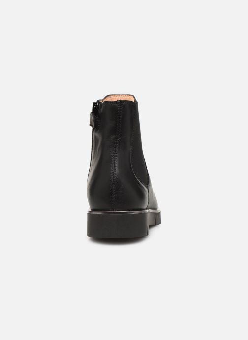 Stiefeletten & Boots Unisa Lazar schwarz ansicht von rechts