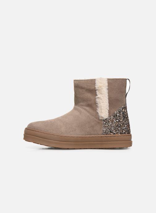 Bottines et boots Unisa Aloma Marron vue face
