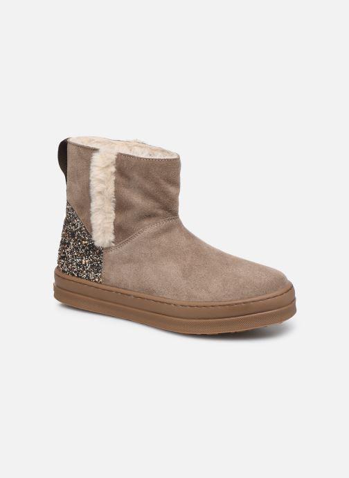 Bottines et boots Unisa Aloma Marron vue détail/paire