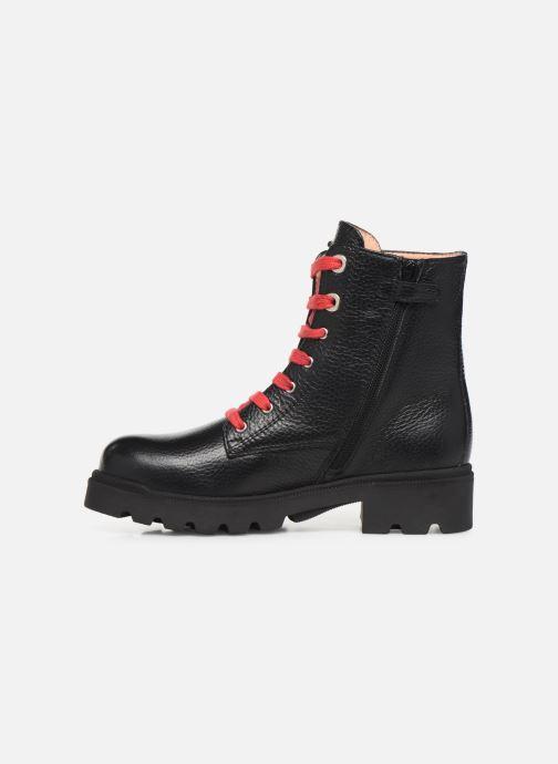 Bottines et boots Unisa Pierina Noir vue face