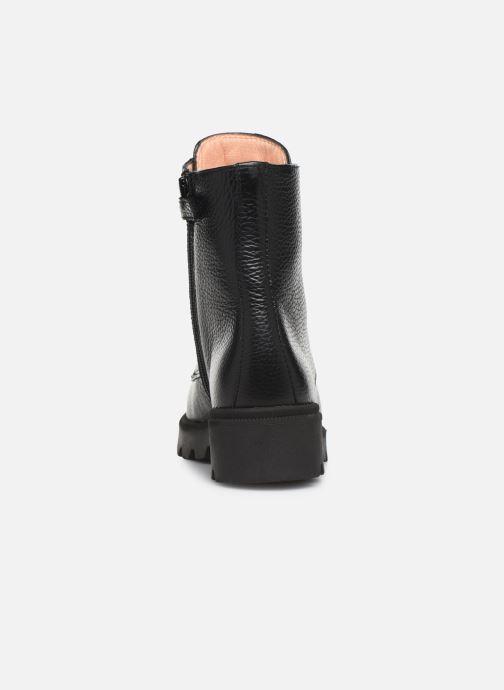 Bottines et boots Unisa Pierina Noir vue droite