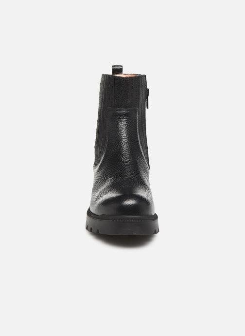 Bottines et boots Unisa Pïneda Noir vue portées chaussures