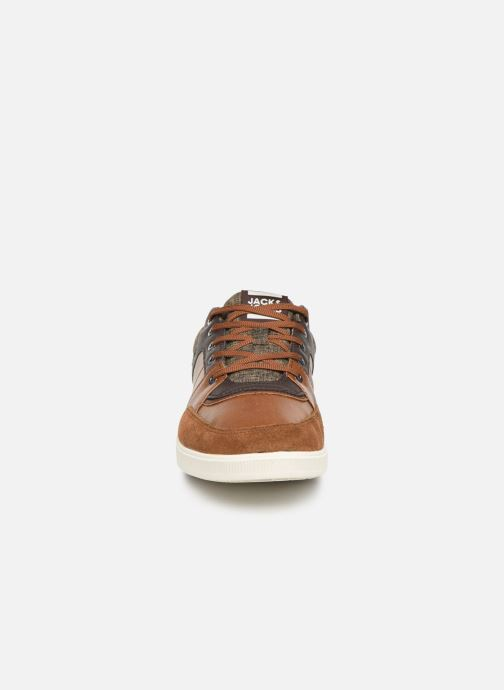 Baskets Jack & Jones JFWNEWINGTON COMBO Marron vue portées chaussures