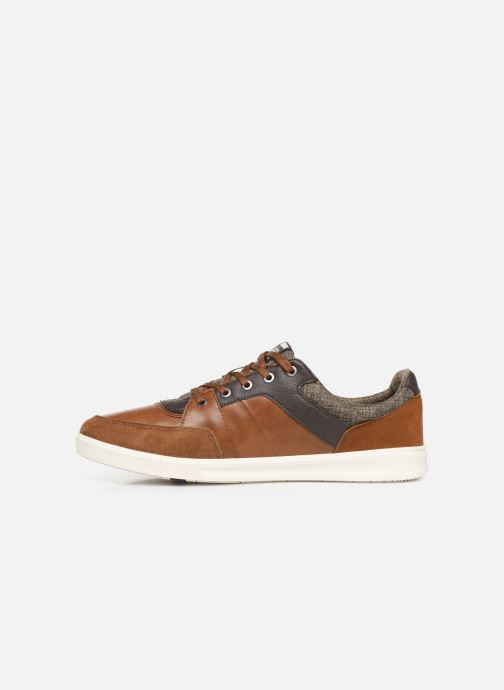 Trainers Jack & Jones JFWNEWINGTON COMBO Brown front view