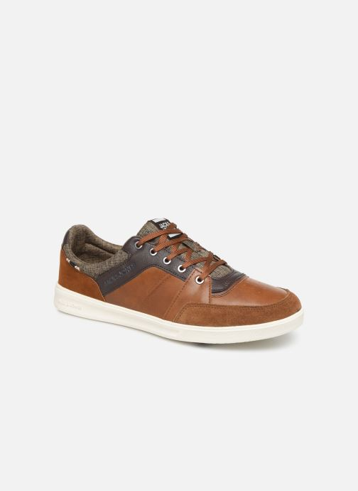Trainers Jack & Jones JFWNEWINGTON COMBO Brown detailed view/ Pair view
