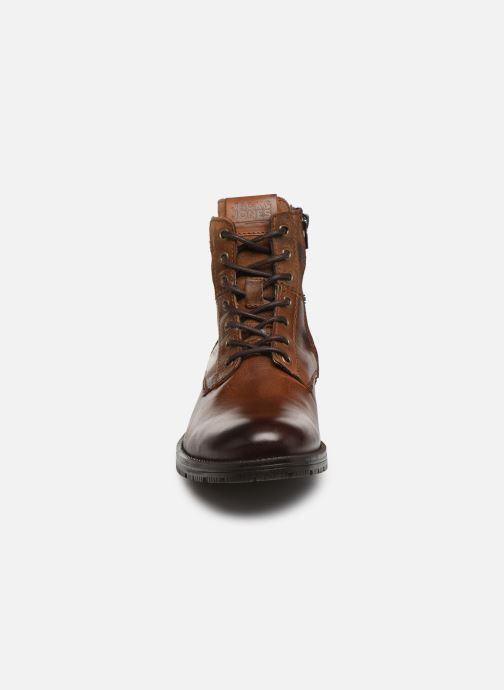 Bottines et boots Jack & Jones JFWZACHARY BOOT Marron vue portées chaussures