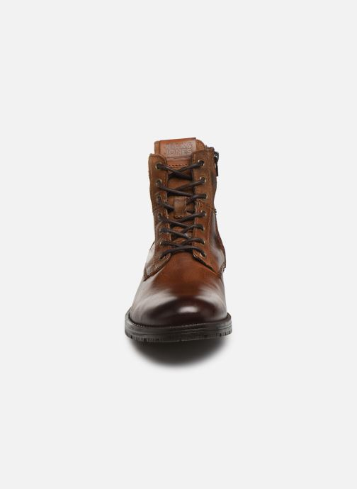 Botines  Jack & Jones JFWZACHARY BOOT Marrón vista del modelo