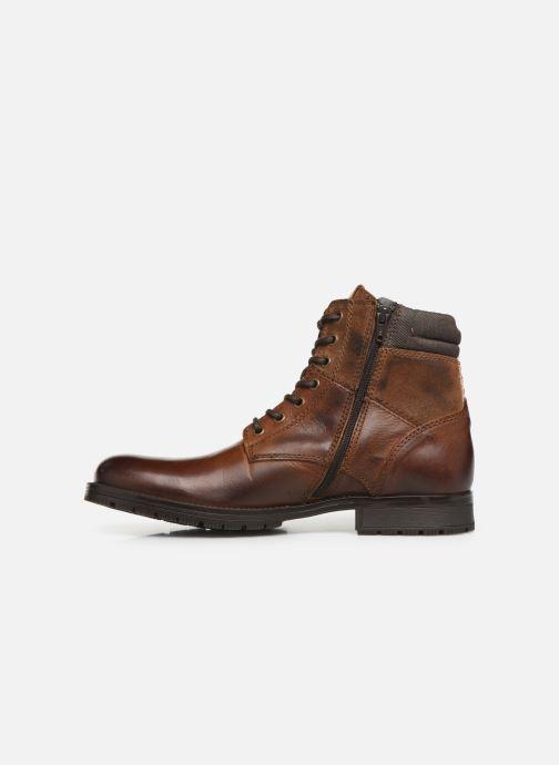 Bottines et boots Jack & Jones JFWZACHARY BOOT Marron vue face