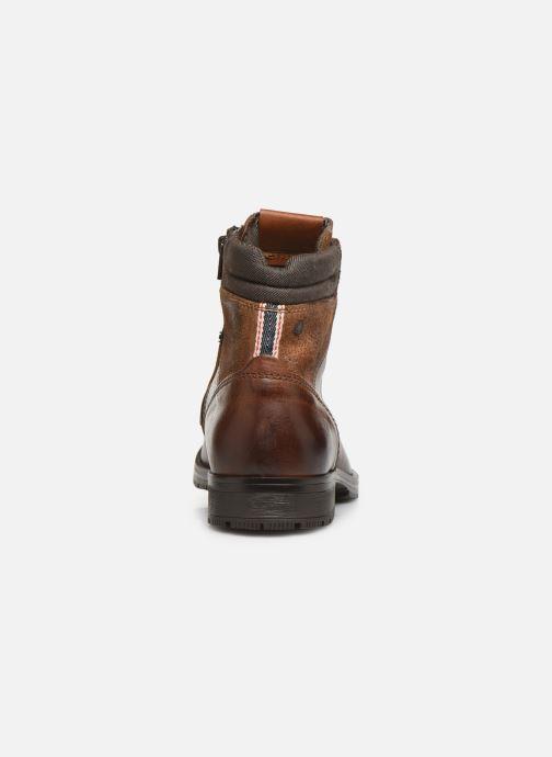 Bottines et boots Jack & Jones JFWZACHARY BOOT Marron vue droite