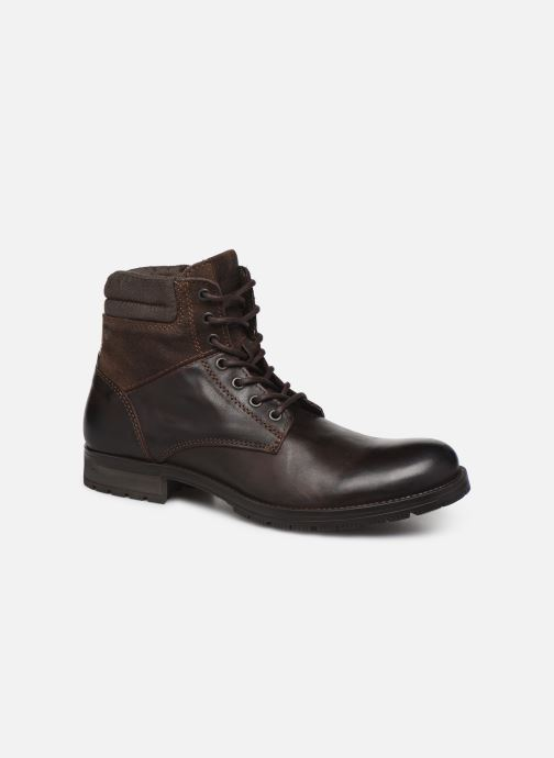 Bottines et boots Jack & Jones JFWZACHARY BOOT Marron vue détail/paire