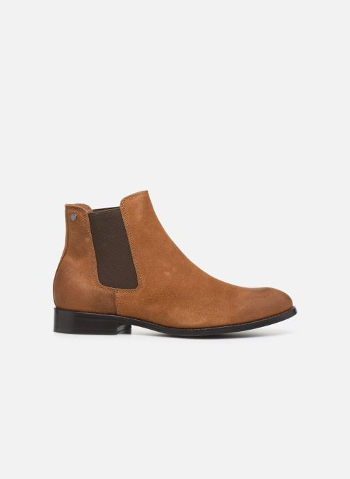 Ankle boots Jack & Jones JFWPETER WAXED SUEDE Brown back view
