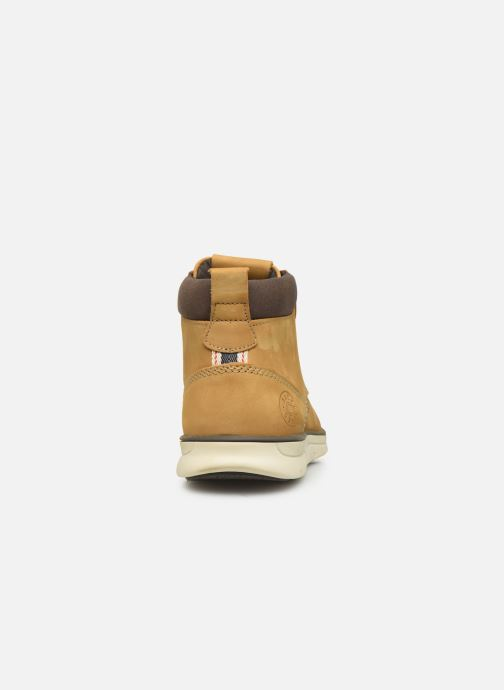 Ankle boots Jack & Jones JFWTBAR Yellow view from the right