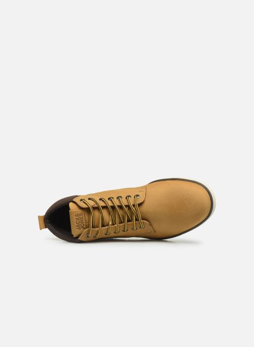 Ankle boots Jack & Jones JFWTBAR Yellow view from the left