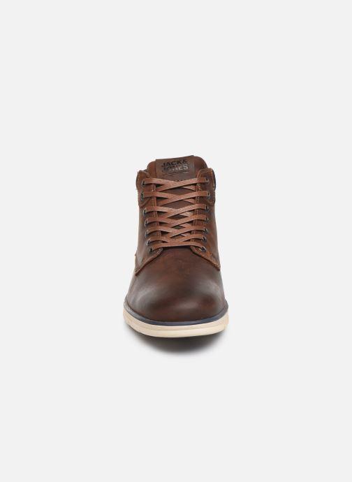 Bottines et boots Jack & Jones JFWTBAR Marron vue portées chaussures