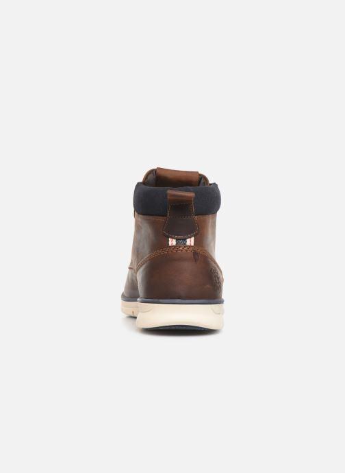 Bottines et boots Jack & Jones JFWTBAR Marron vue droite
