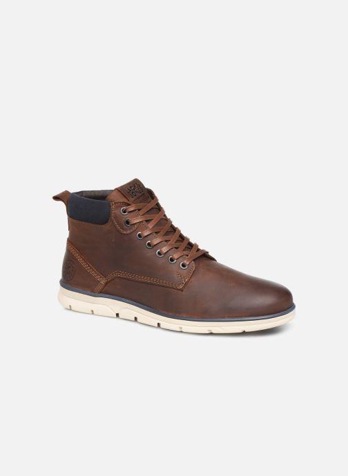 Bottines et boots Jack & Jones JFWTBAR Marron vue détail/paire