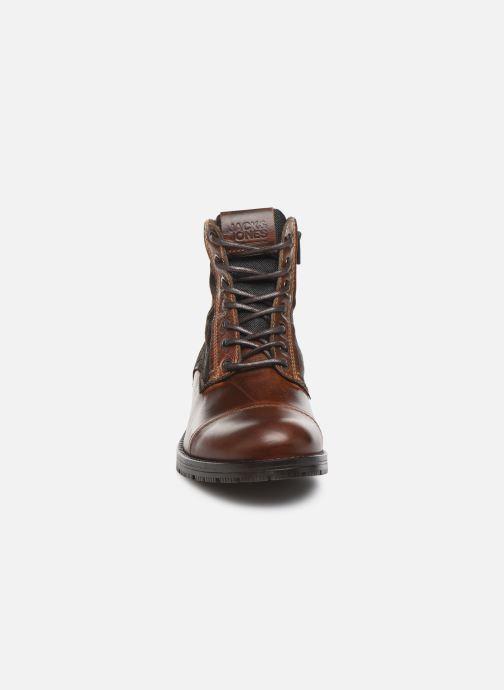 Bottines et boots Jack & Jones JFWMARSHALL Marron vue portées chaussures