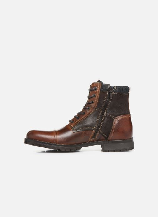 Ankle boots Jack & Jones JFWMARSHALL Brown front view