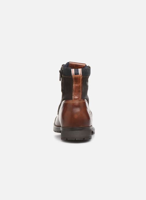 Ankle boots Jack & Jones JFWMARSHALL Brown view from the right