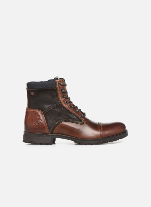 Ankle boots Jack & Jones JFWMARSHALL Brown back view