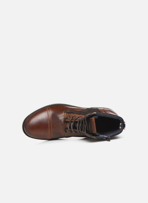 Ankle boots Jack & Jones JFWMARSHALL Brown view from the left