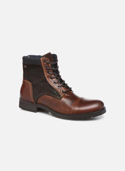 Bottines et boots Jack & Jones JFWMARSHALL Marron vue détail/paire