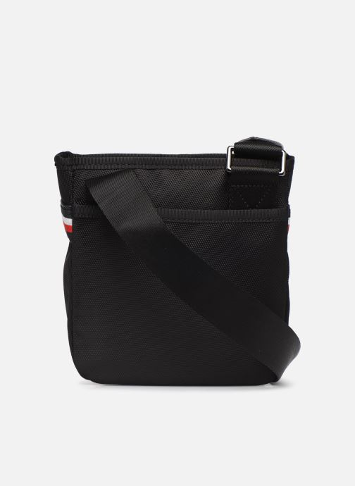 Sacs homme Tommy Hilfiger ELEVATED NYLON MINI CROSSOVER Noir vue face