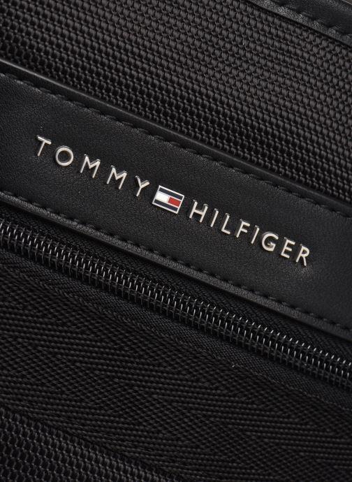 Herrentaschen Tommy Hilfiger ELEVATED NYLON MINI CROSSOVER schwarz ansicht von links