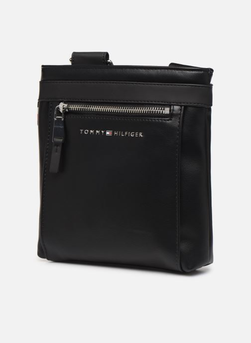 Bolsos de hombre Tommy Hilfiger TH METRO MINI CROSSOVER Negro vista del modelo