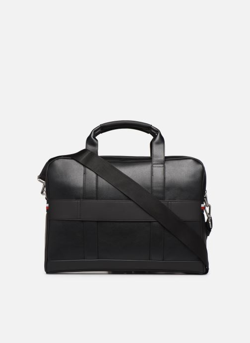 Sacs ordinateur Tommy Hilfiger TH METRO COMPUTER BAG Noir vue face