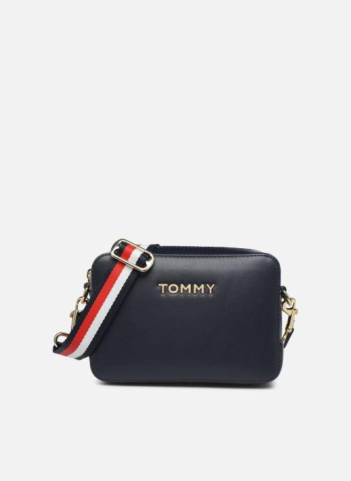 Handtassen Tommy Hilfiger ICONIC TOMMY CROSSOVER Blauw detail