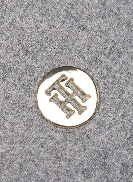 Bolsos de mano Tommy Hilfiger TH CORE HOBO MELTON Gris vista lateral izquierda