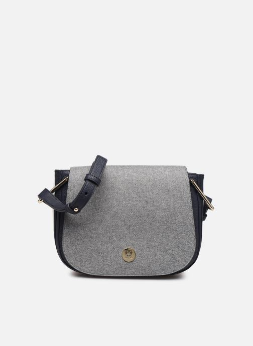 Bolsos de mano Tommy Hilfiger TH CORE SADDLE BAG MELTON Gris vista de detalle / par