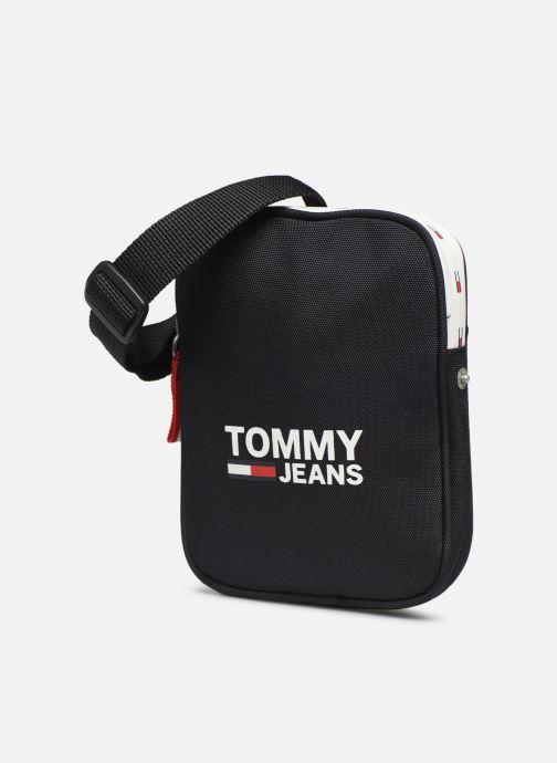 Petite Maroquinerie Tommy Hilfiger TJM COOL CITY COMPACT Noir vue portées chaussures