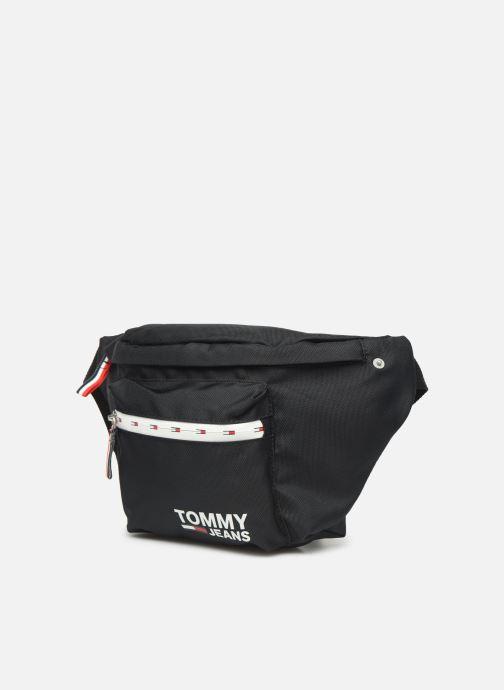 Petite Maroquinerie Tommy Hilfiger TJM COOL CITY BUMBAG Noir vue portées chaussures