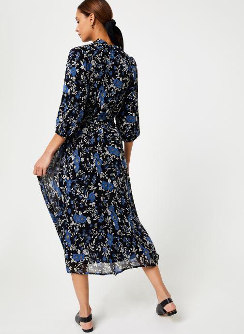 Vêtements Jolie Jolie Petite Mendigote Robe Lison Bleuet Bleu vue portées chaussures