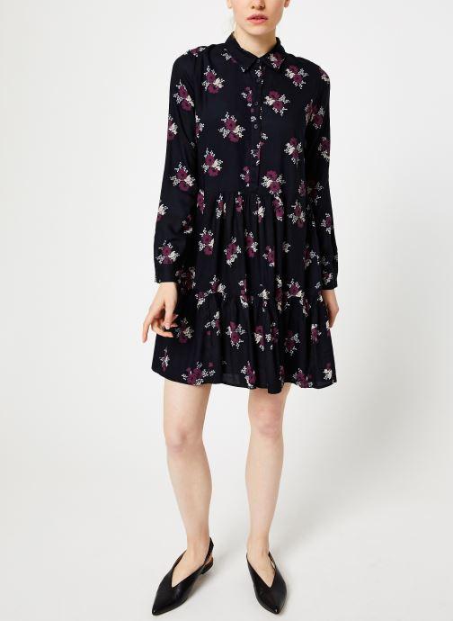 Vêtements Jolie Jolie Petite Mendigote Robe Elsa Bouquet Noir vue bas / vue portée sac