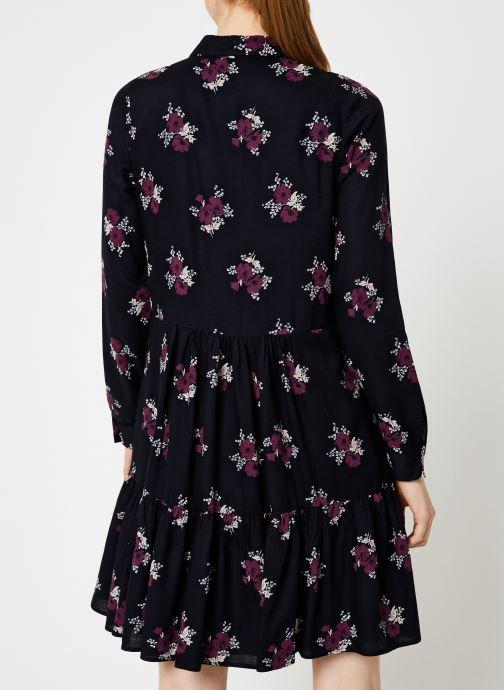 Vêtements Jolie Jolie Petite Mendigote Robe Elsa Bouquet Noir vue portées chaussures