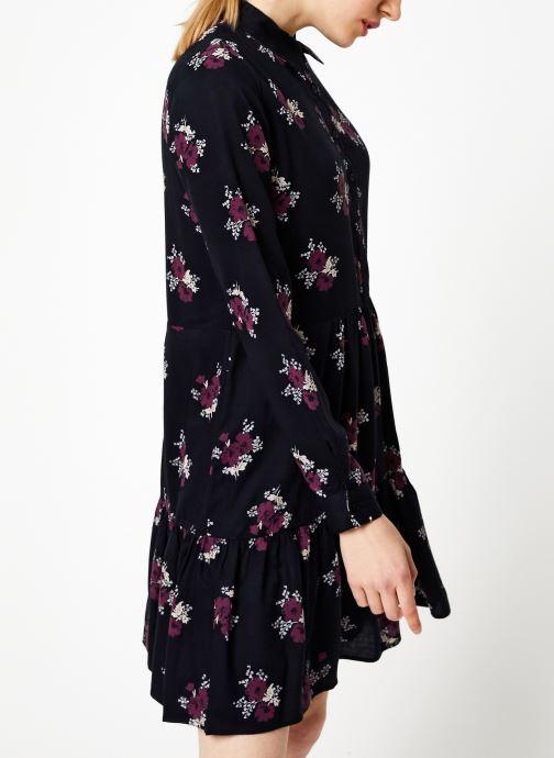 Vêtements Jolie Jolie Petite Mendigote Robe Elsa Bouquet Noir vue droite