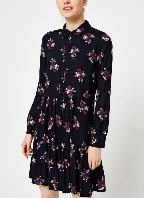 Vêtements Jolie Jolie Petite Mendigote Robe Elsa Bouquet Noir vue détail/paire