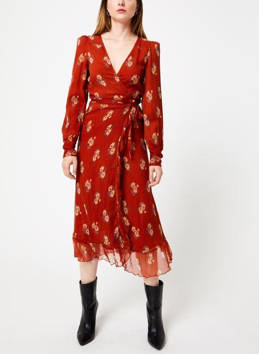 Vêtements Jolie Jolie Petite Mendigote Robe Amelie Bouquet Marron vue bas / vue portée sac
