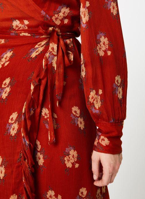 Vêtements Jolie Jolie Petite Mendigote Robe Amelie Bouquet Marron vue face