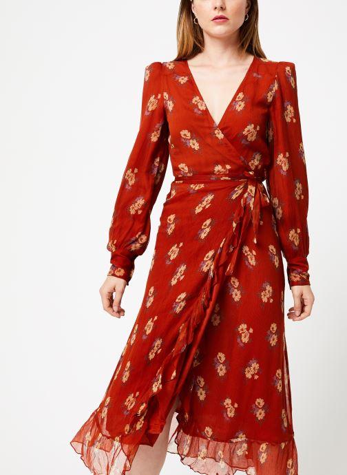 Vêtements Jolie Jolie Petite Mendigote Robe Amelie Bouquet Marron vue droite