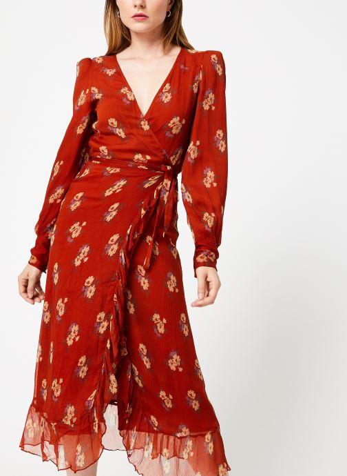 Vêtements Jolie Jolie Petite Mendigote Robe Amelie Bouquet Marron vue détail/paire