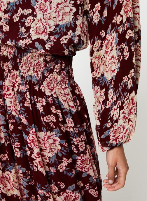 Vêtements Jolie Jolie Petite Mendigote Robe Amandine Eglantine Bordeaux vue face