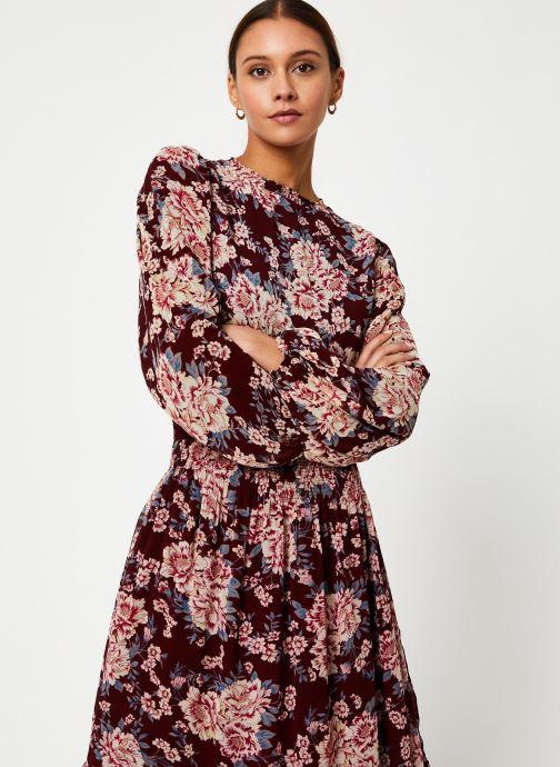 Vêtements Jolie Jolie Petite Mendigote Robe Amandine Eglantine Bordeaux vue droite