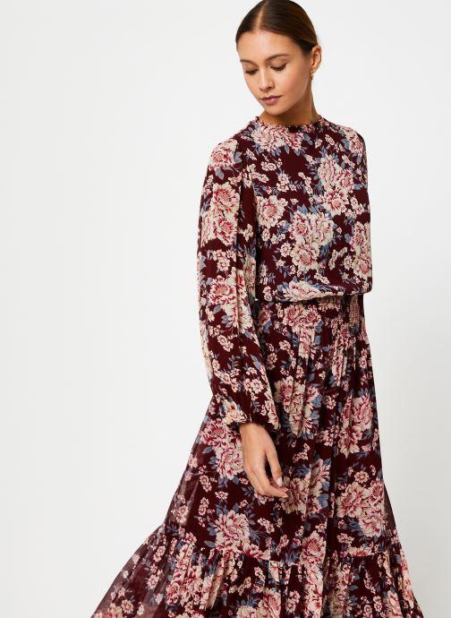Vêtements Jolie Jolie Petite Mendigote Robe Amandine Eglantine Bordeaux vue détail/paire