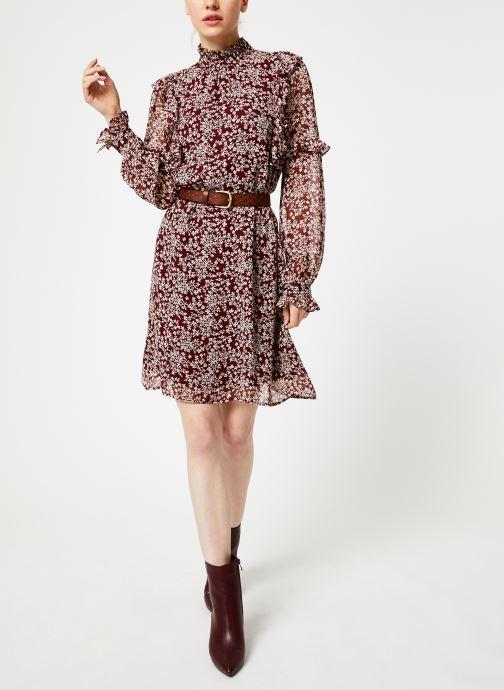 Kleding Jolie Jolie Petite Mendigote Robe Sylvia Freesia Cherry Rood onder